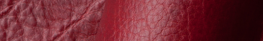 Cayenne red buffalo leather hides and sides