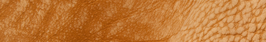 Tan buffalo leather hides and sides