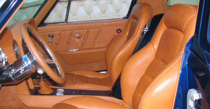 Classic Car Interior - Closeup